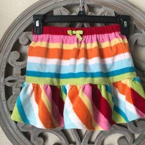 Gymboree microfiber fleece skirt